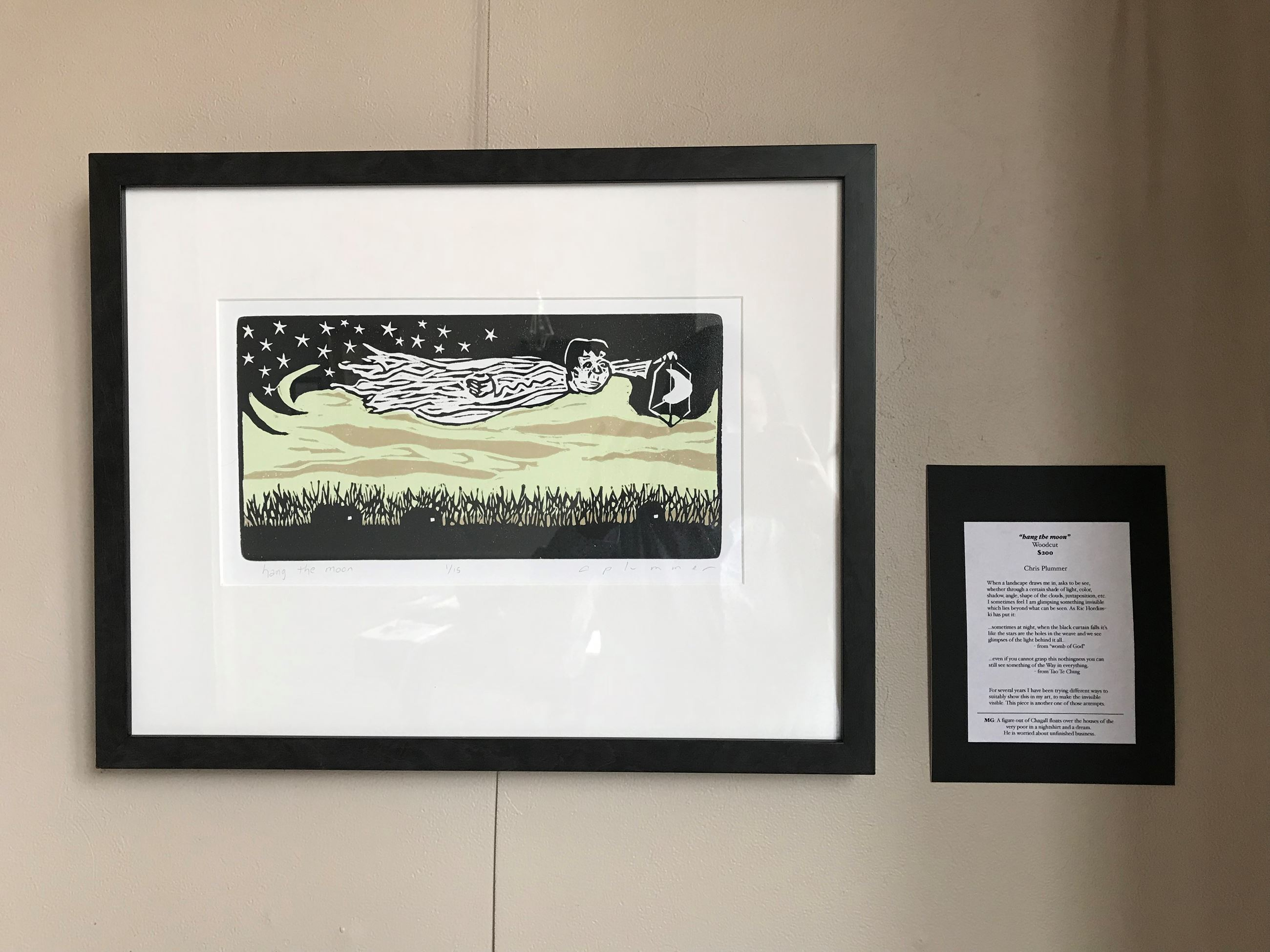 hang the moon by Chris Plummer (woodcut) (002)