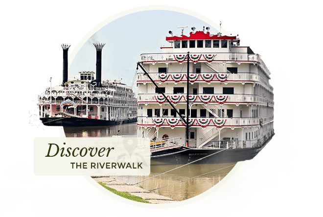 Discover the Riverwalk