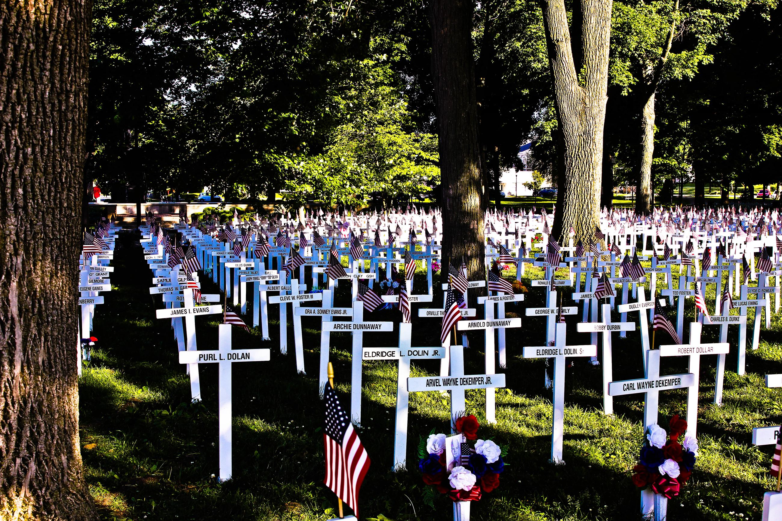 Memorial Day in Henderson's Central Park
