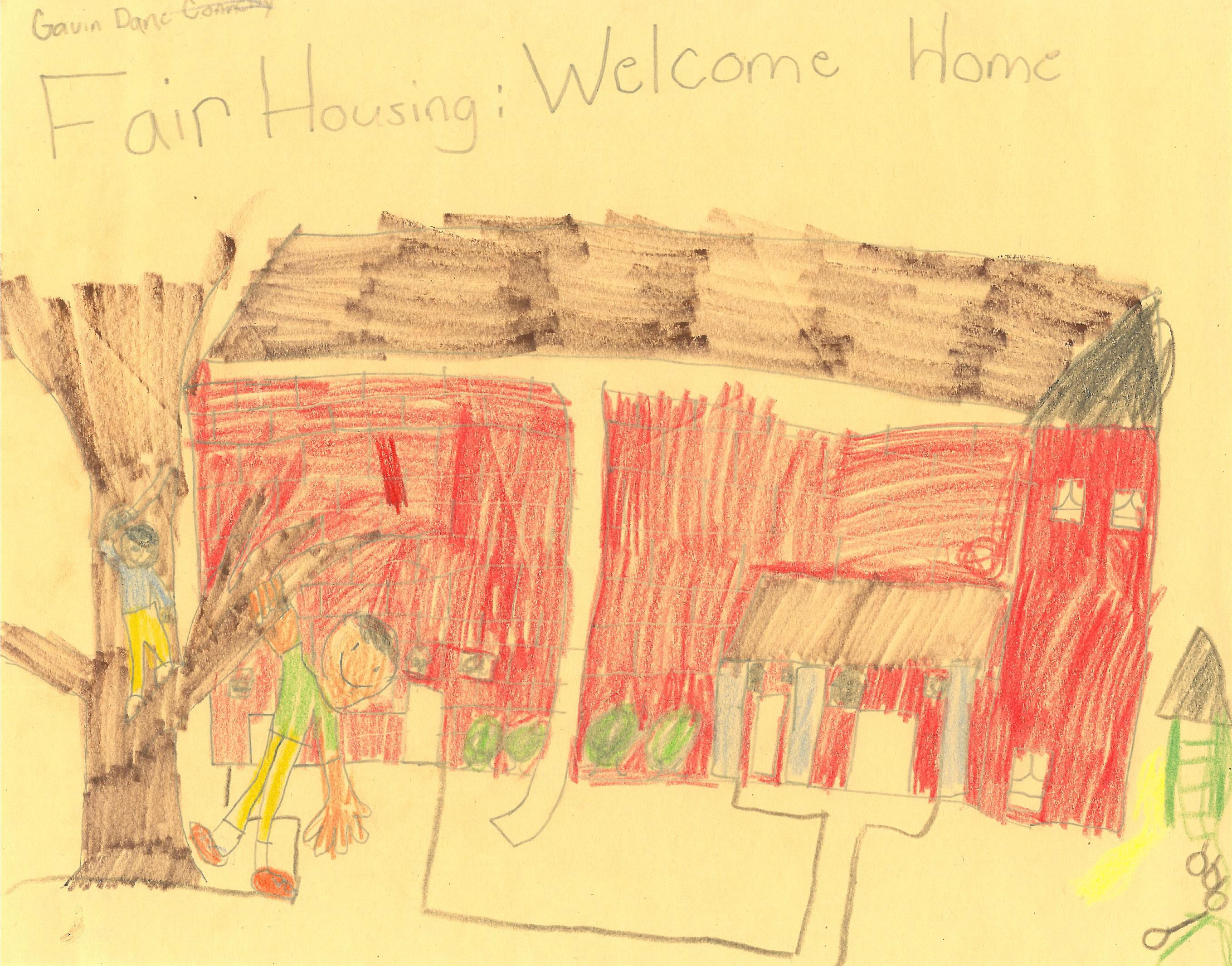 Fair Housing Poster Winner